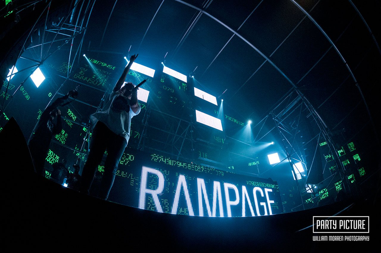 Laundry Day 2014 - Rampage stage